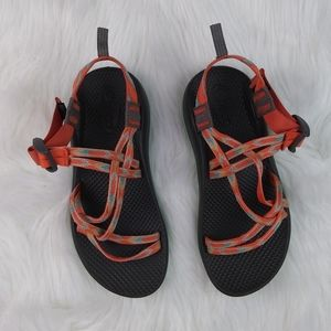 Kids Orange and Green Chacos